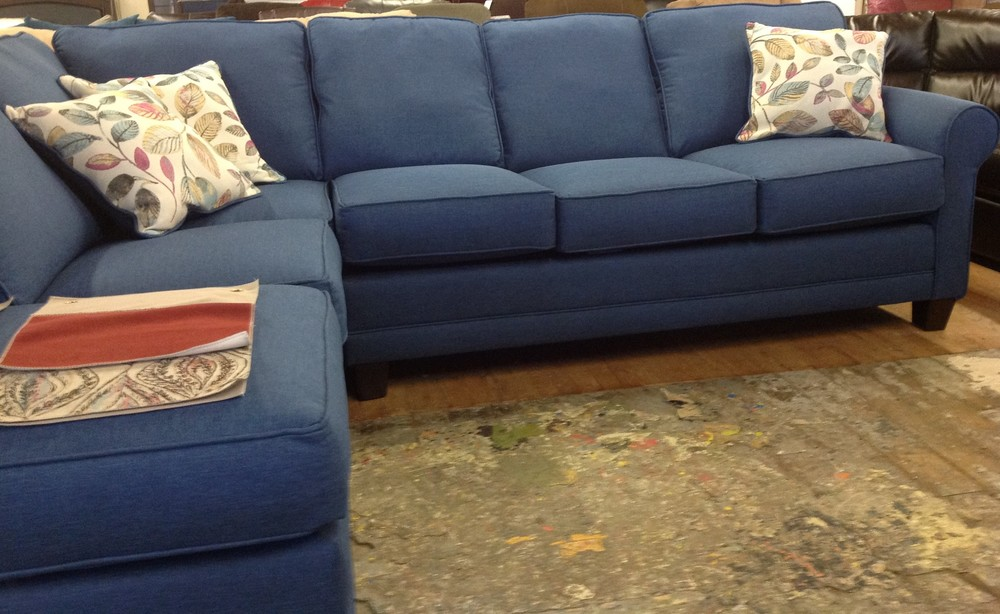 Serta Sectional Made in USA 799 NH Furniture Direct