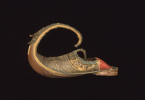 "Image of c. 1867 ""Turkish Slipper"" from Peabody Museum"