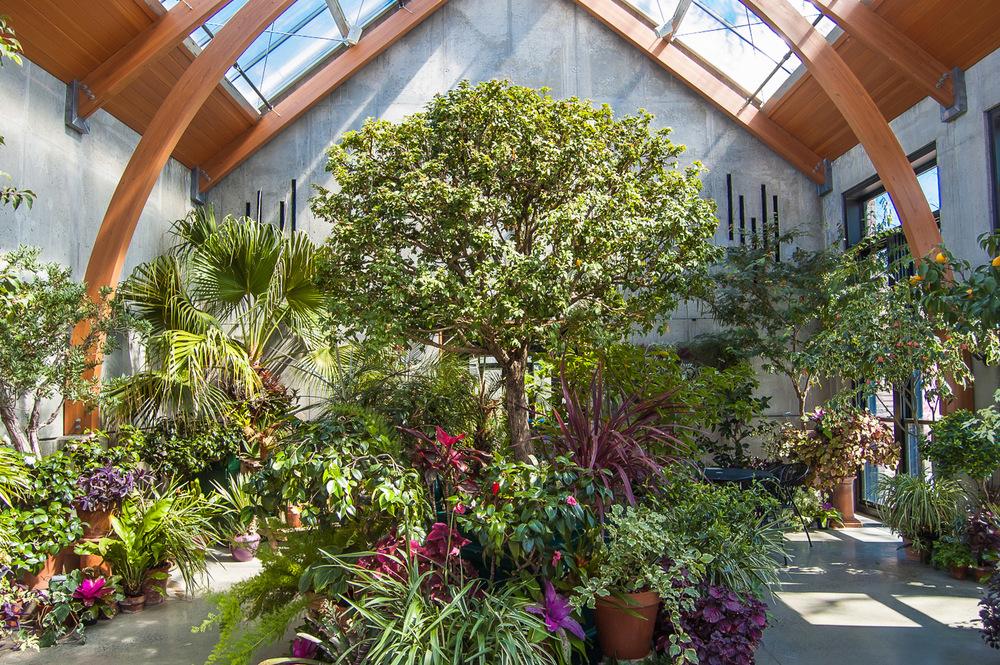 The Limonaia, Tower Hill Botanic Garden
