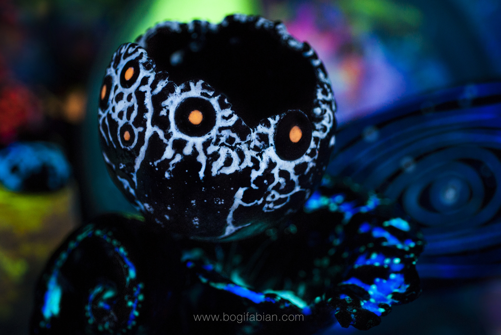 Bogi Fabian glowing ceramic ball