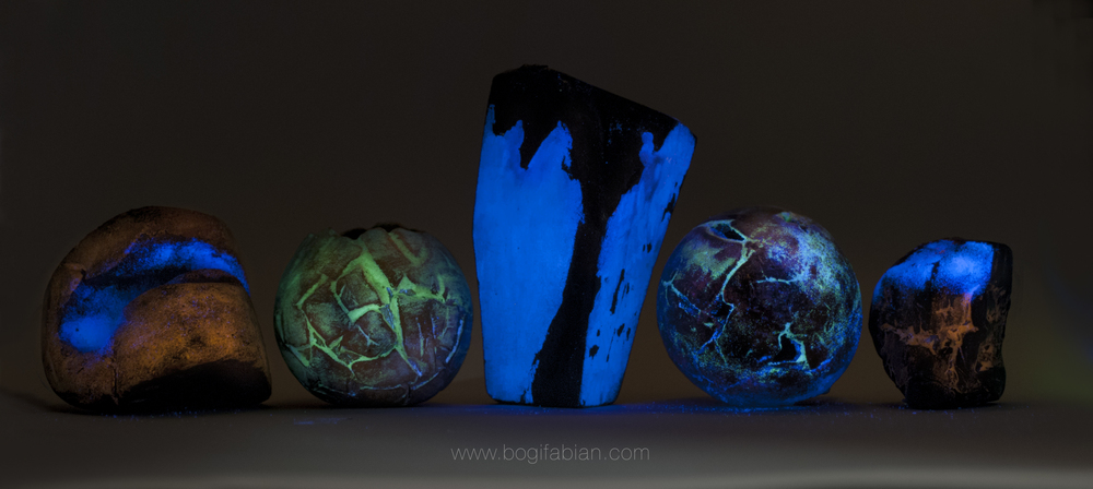 Bogi fabian Glowing Ceramic sculpture