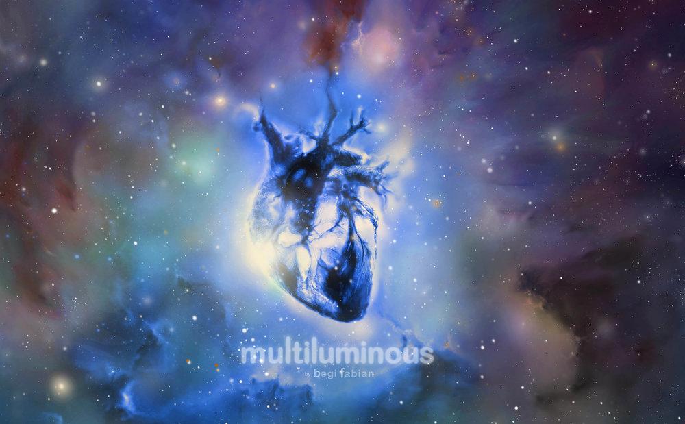 bogi fabian multiluminous print glowing universe kickstarter