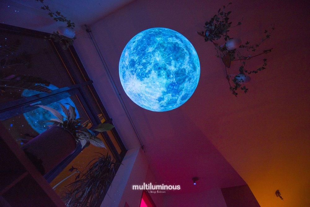 Bogi Fabian Moon Glow in the dark print multiluminous