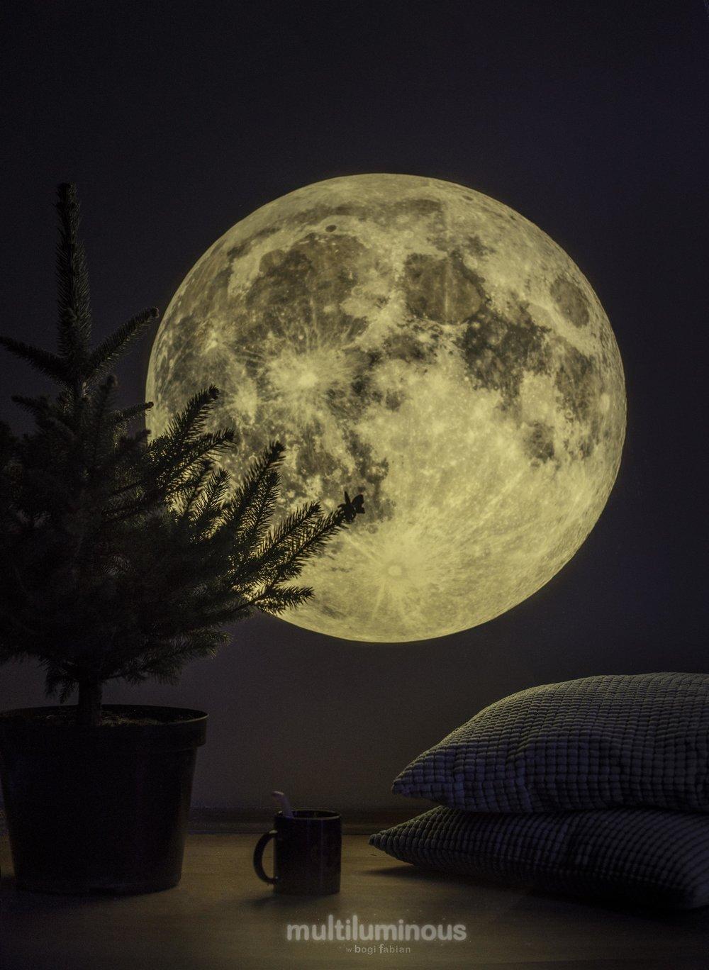bogi fabian moon glowinthedarkprint