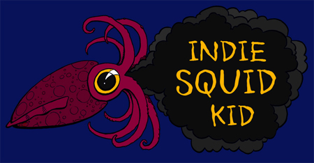 Indie Squid Kid Logo
