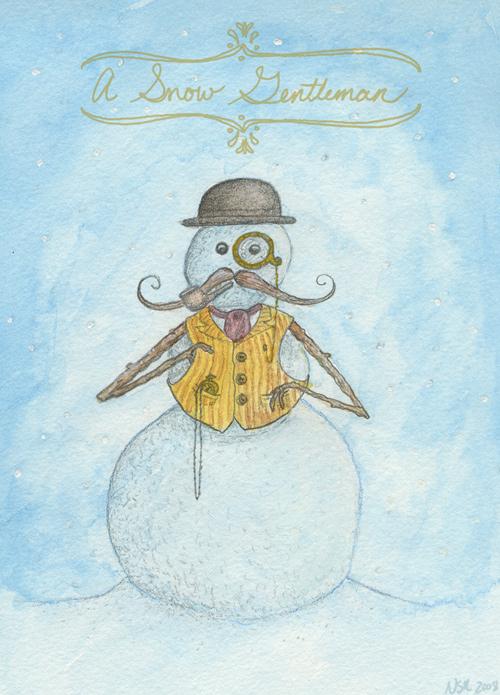 Snow Gentleman
