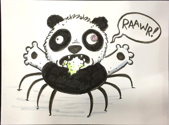 Панда паук