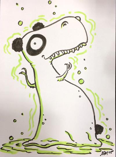 Atomic Panda T-Rex