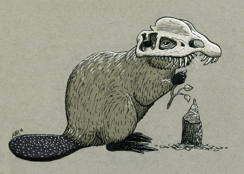 2016-inktober-dilophosaurus-beaver.jpg