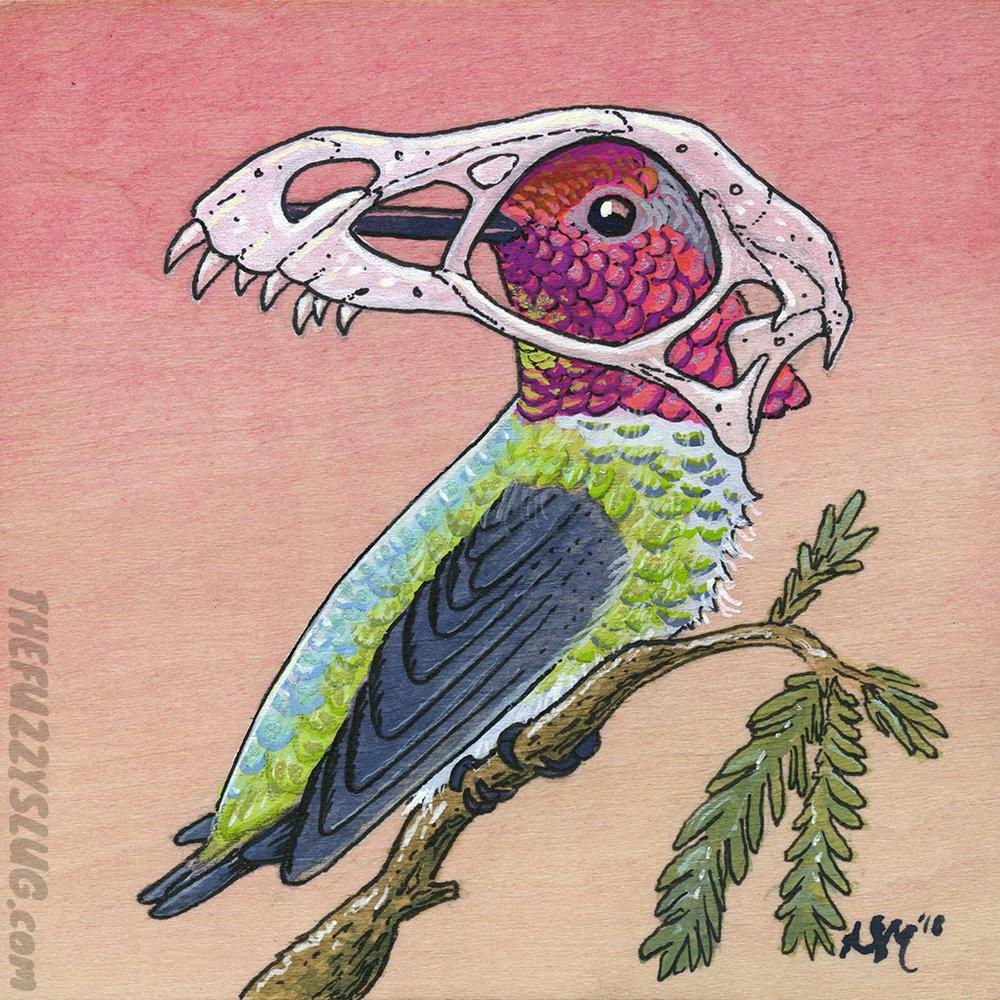 Epidexipteryx Hummingbird (a.k.a. Tiny Murderbird)