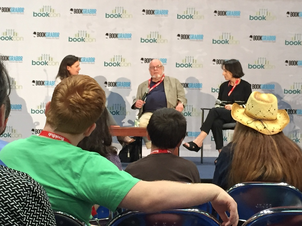 Norton Juster, Cathy Goldsmith and Barrie Hardymon talk children's books