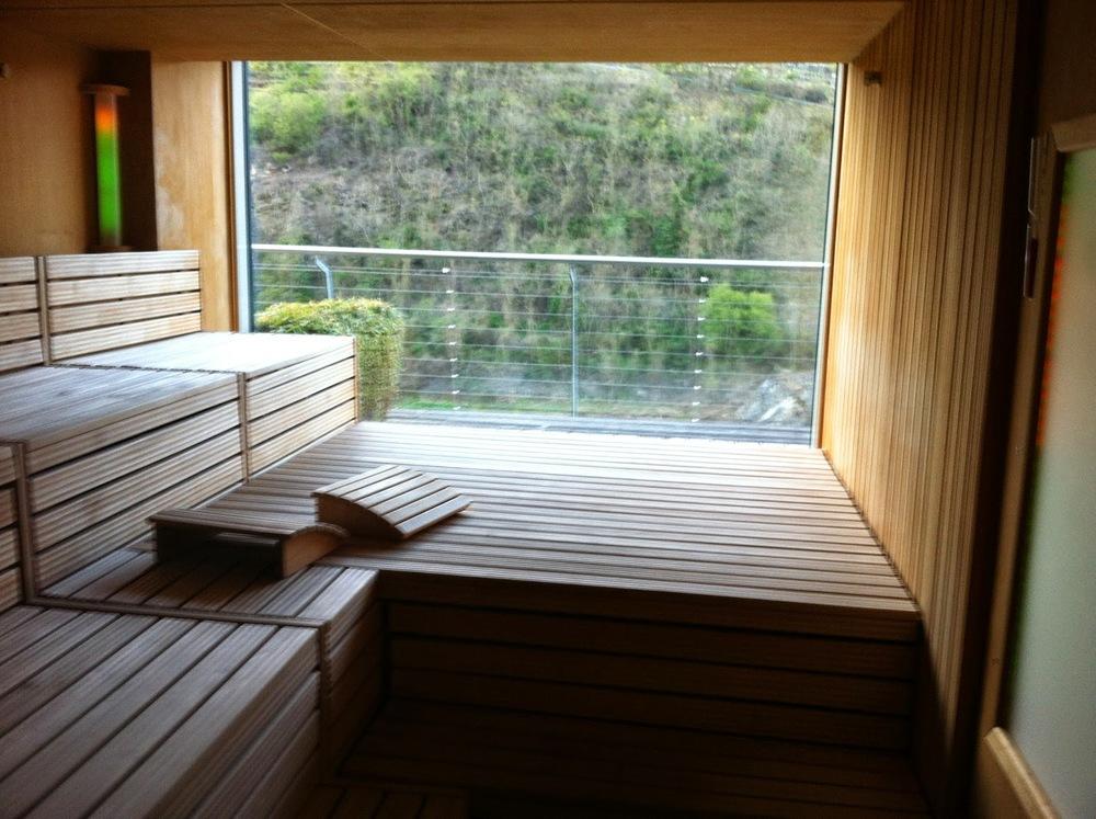 Steigenberger Hotel Krems - Panorama Sauna