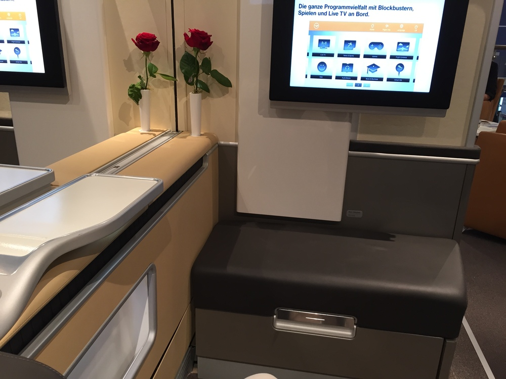 The Lufthansa First Class