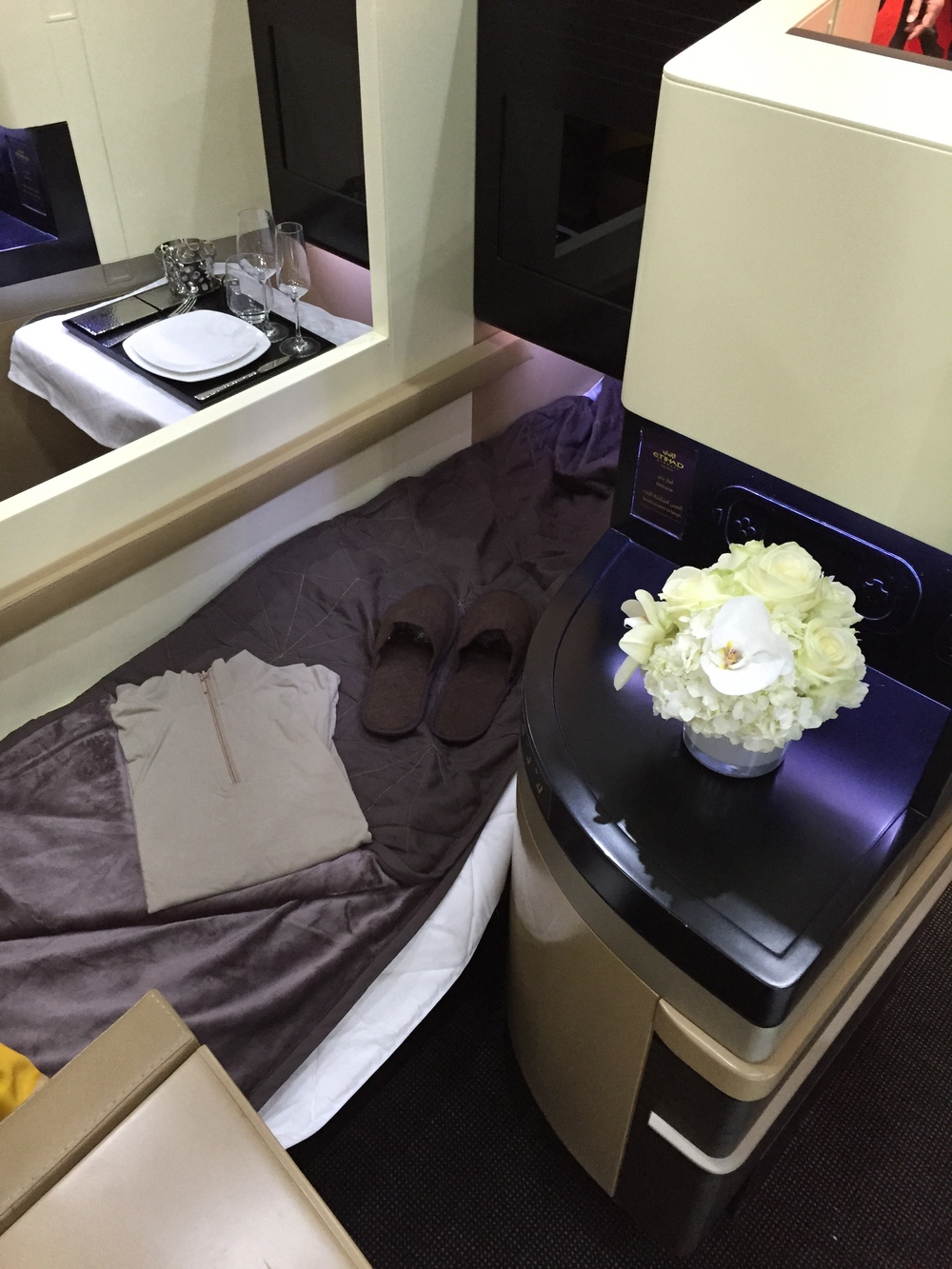 Business Class - Etihad Airways