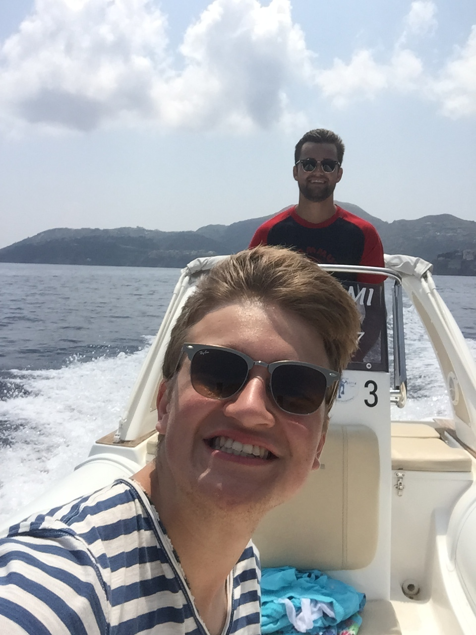 Inspecting the Aeolian Islands by ourselves