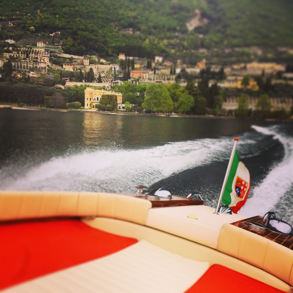 Lake Garda by private Riva Yacht