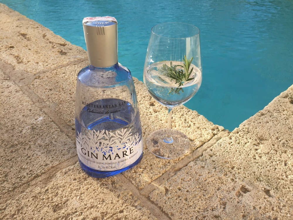 A Gin Mare in our private Villa at Borgo Egnazia in Apulia, IItaly.