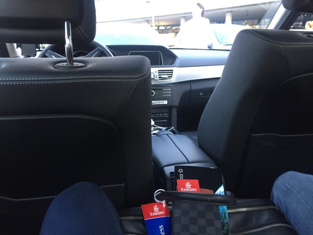 A perfect arrival from the Airport to the Hotel Imperial with myDriver