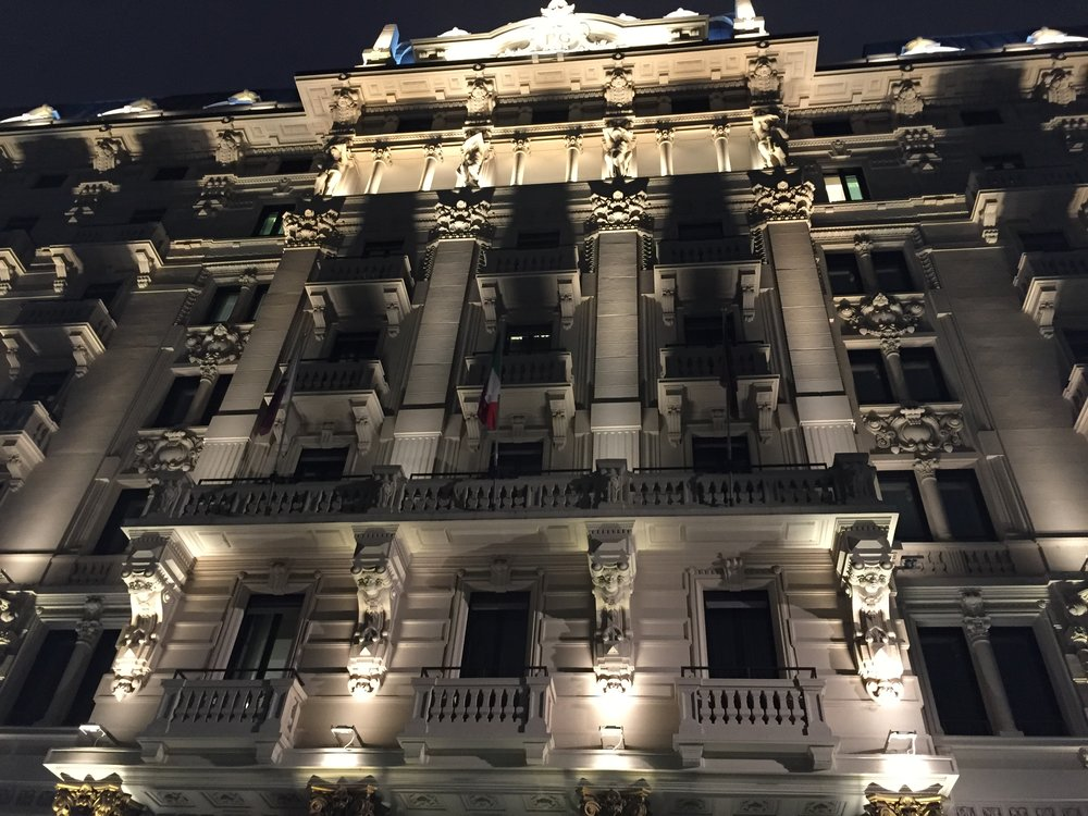 The Excelsior Gallia - Once a hotel that made me to the person I am after having stayed there several times when I was four years old