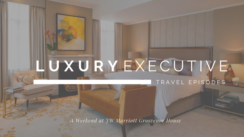 JW Marriott Grosvenor House - A tour through the recently refurbished Premier Suite - one of London's prime suites overlooking Hyde Park - at the first JW Marriott property on Luxury Executive.