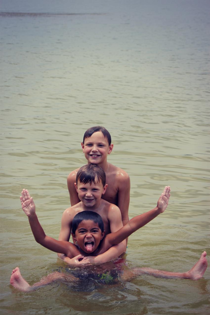 3 boys