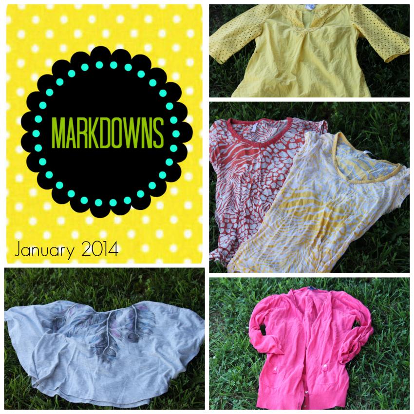 Markdowns January