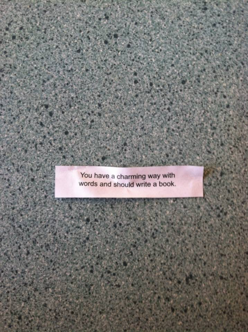 My fortune right before the book release