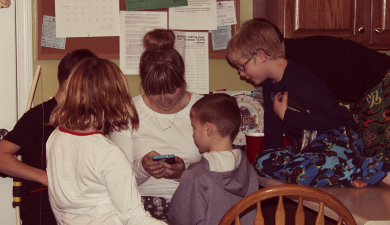 SJ and kids