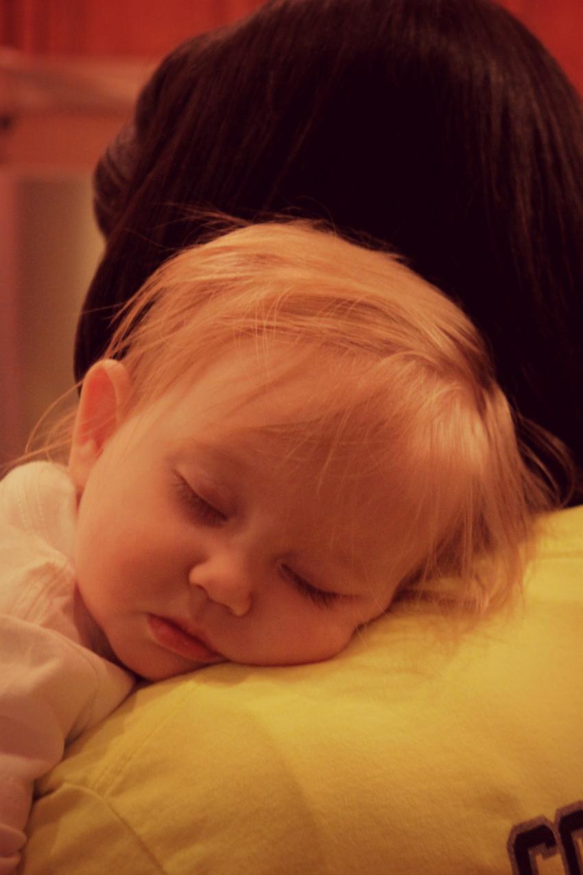 amelia asleep