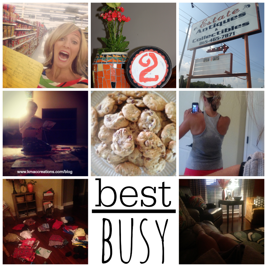 best over busy collage