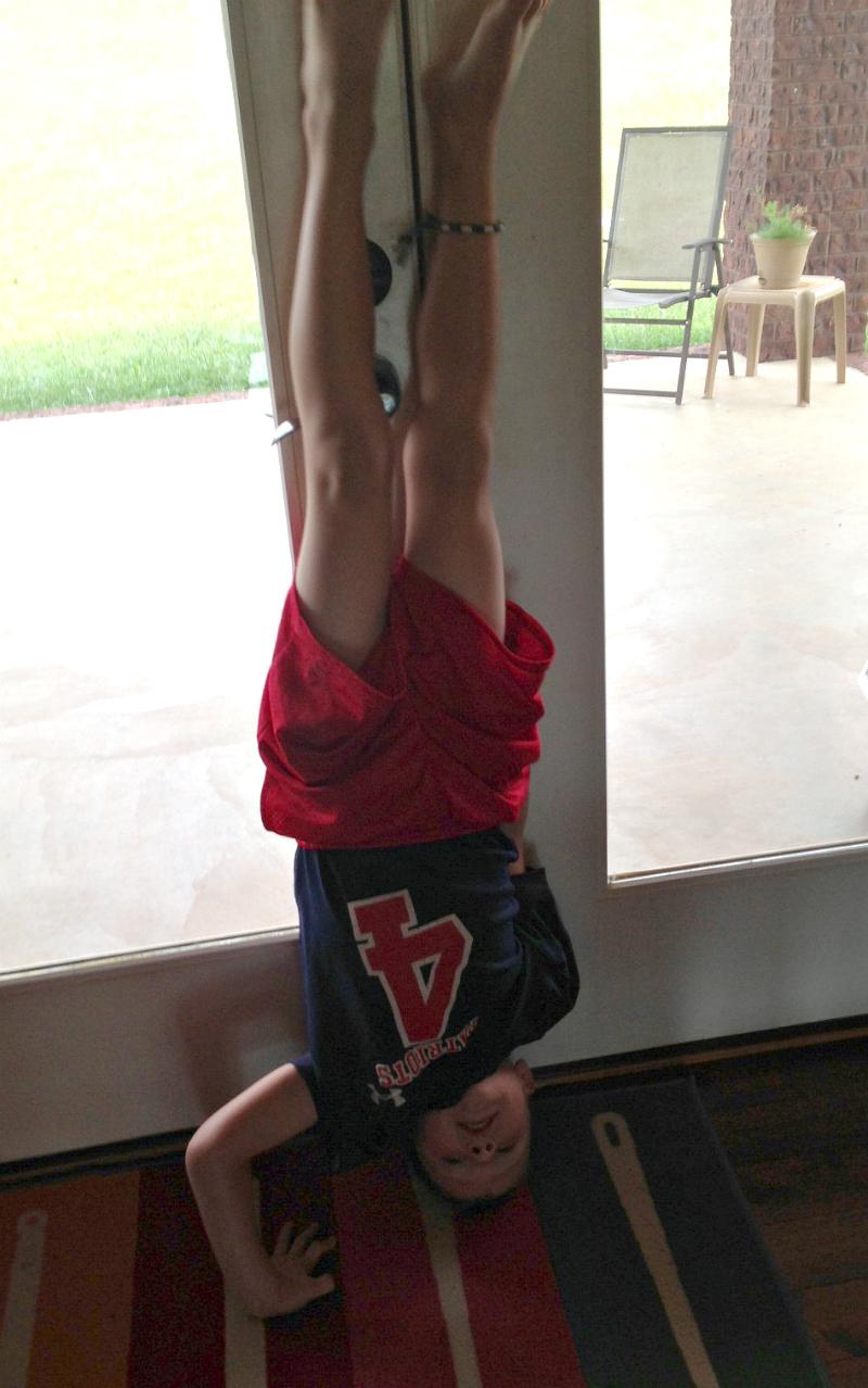 casey handstand