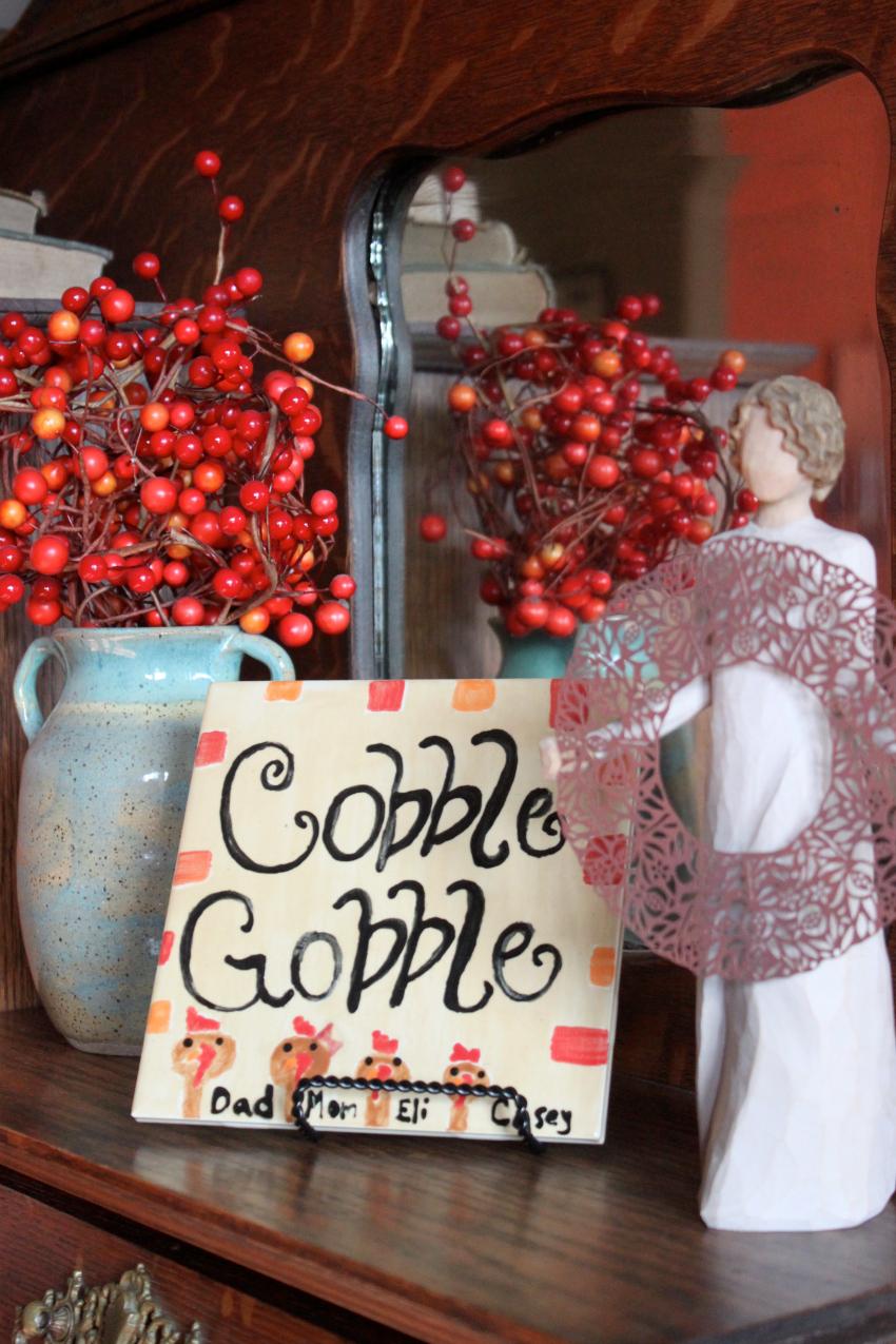 cobble gobble sign