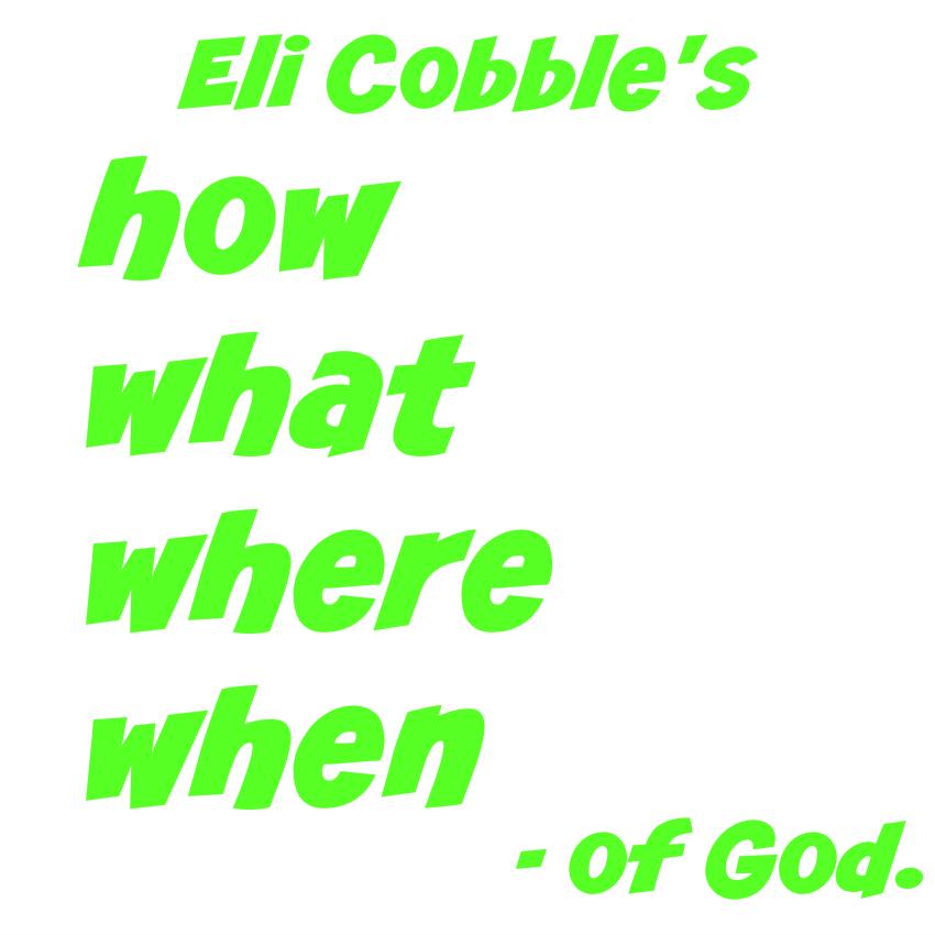 eli cobble's list