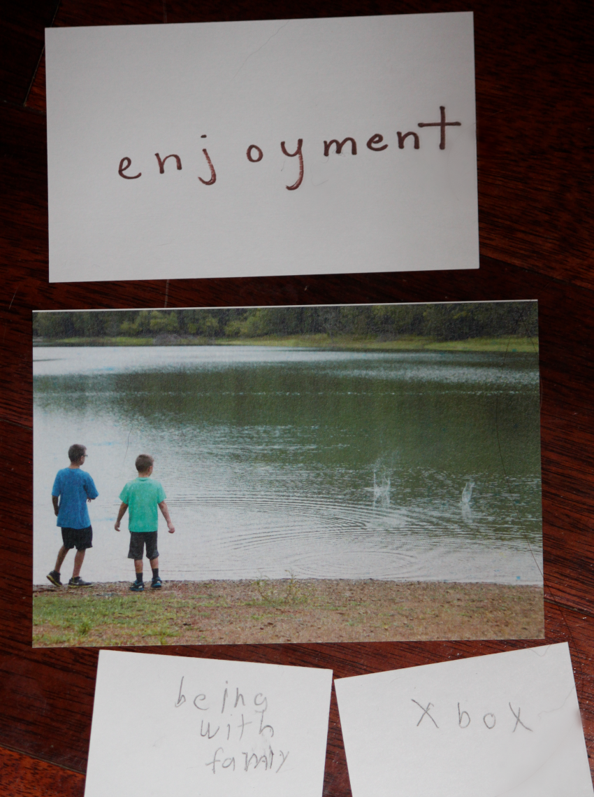 enjoyment write