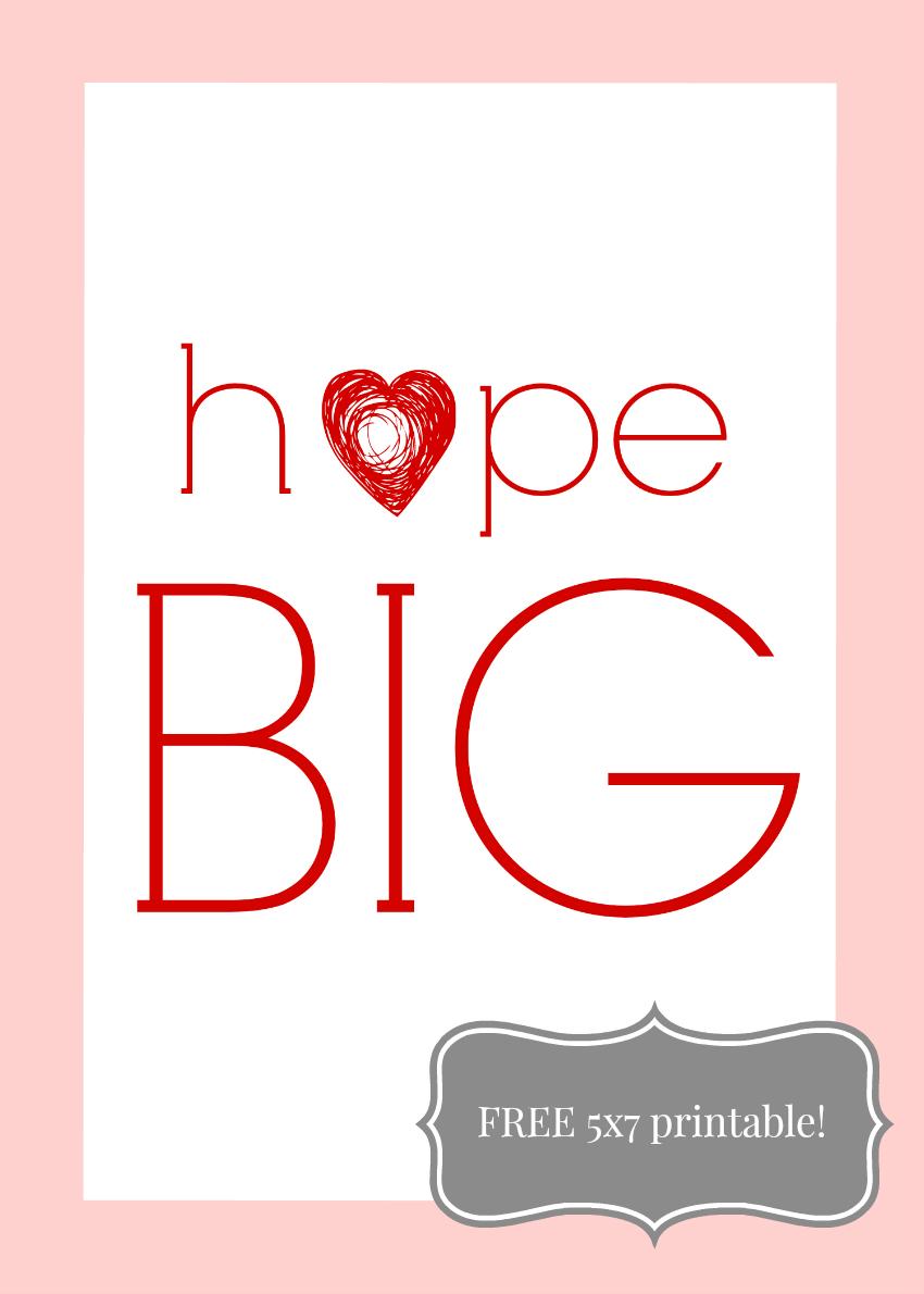 hope BIG 5 x 7 850
