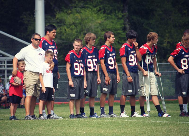 line up boys