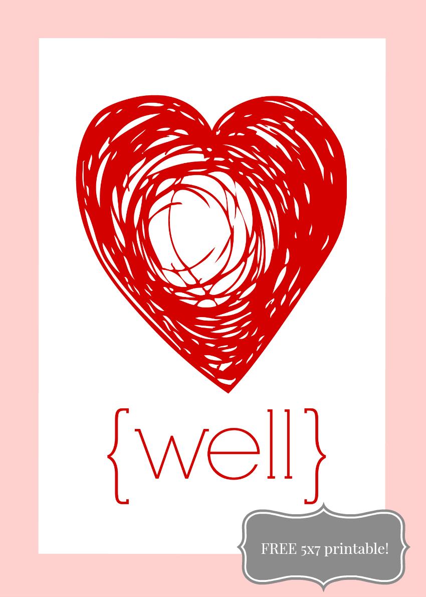 love well 5 x 7 850