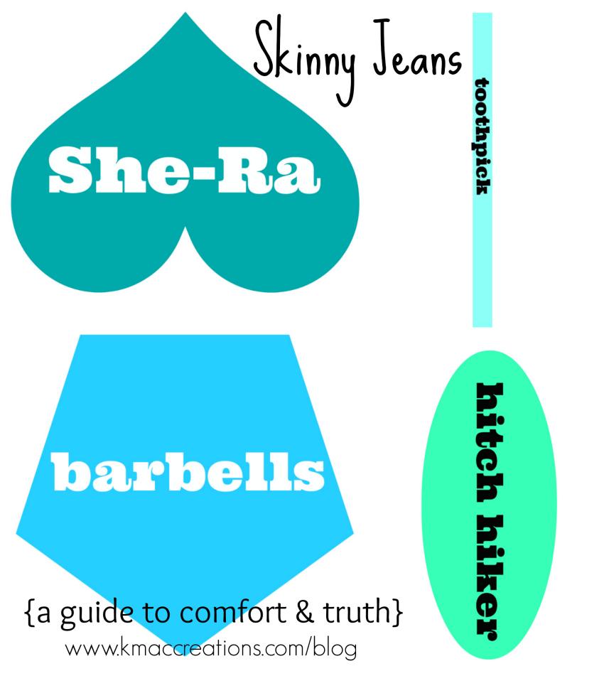 skinny jean guide