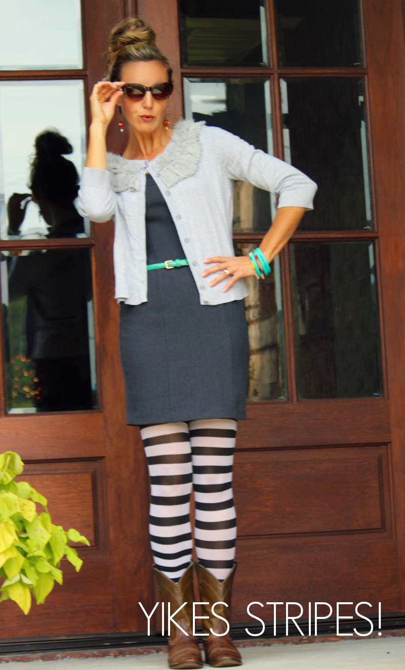 striped tights-words