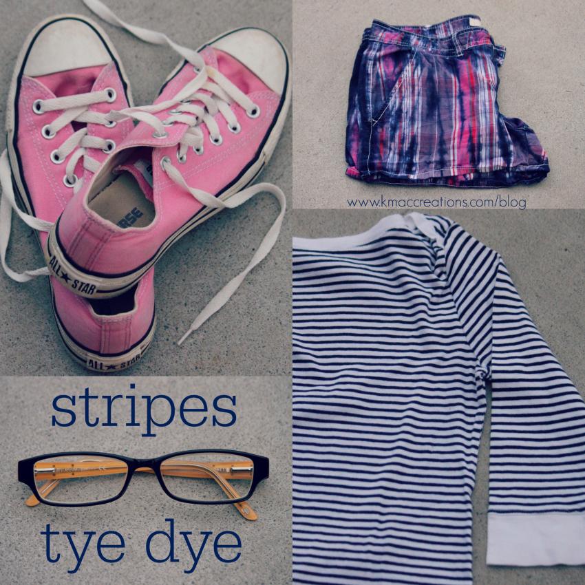 stripes & tye dye