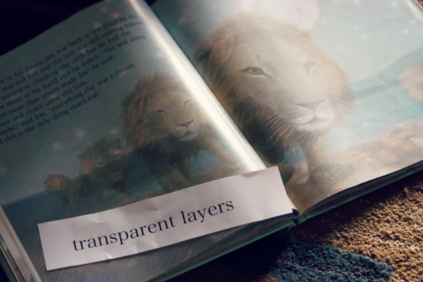 transparent layers