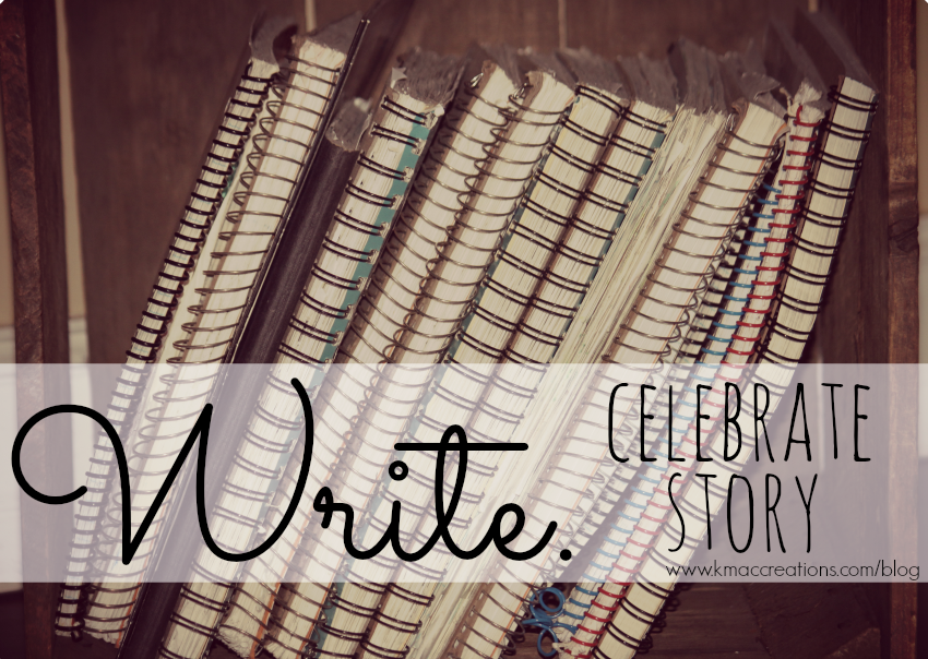 write-celebrate story title