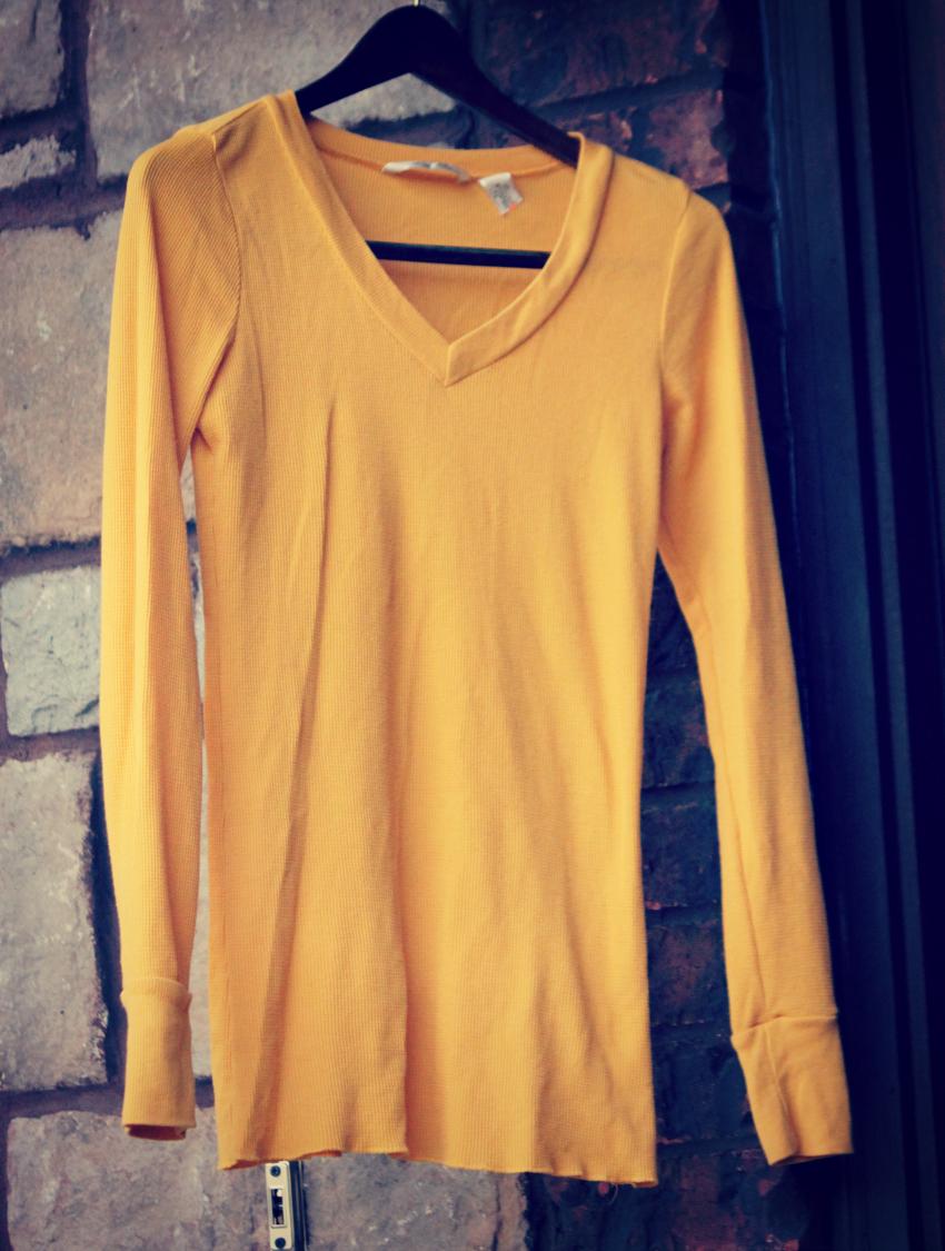 yellow shirt-sj