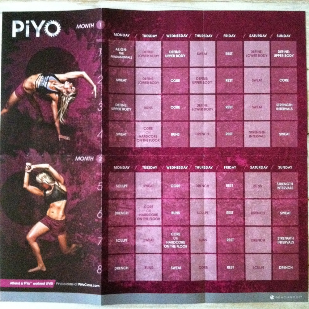 Piyo Home Workout Review Anna Maria Locke