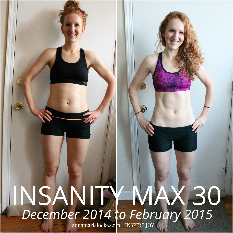 insanity max 30 review anna maria locke