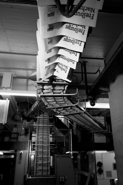 Imprimerie St-Paul, à Fribourg.