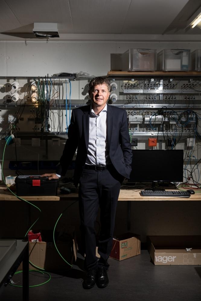Le Bernois Jürg Grossen, le futur président du parti les Vert'libéraux. Août 2017.