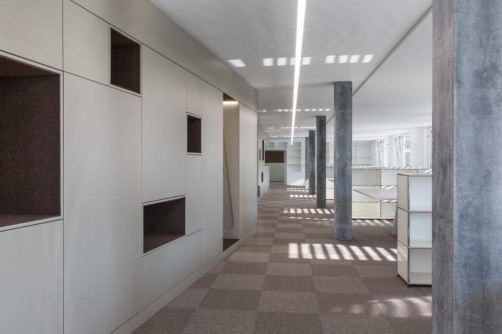 Atelier d'architectes Charrière-Partenaires, Granges-Paccot.