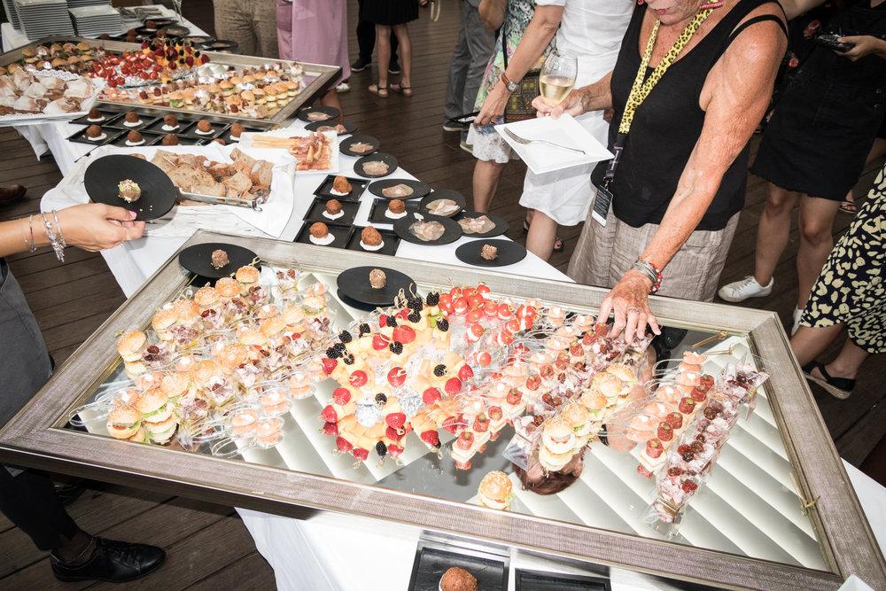 71ème édition du Locarno Festival. Lors d'un des nombreux cocktails de Locarno.