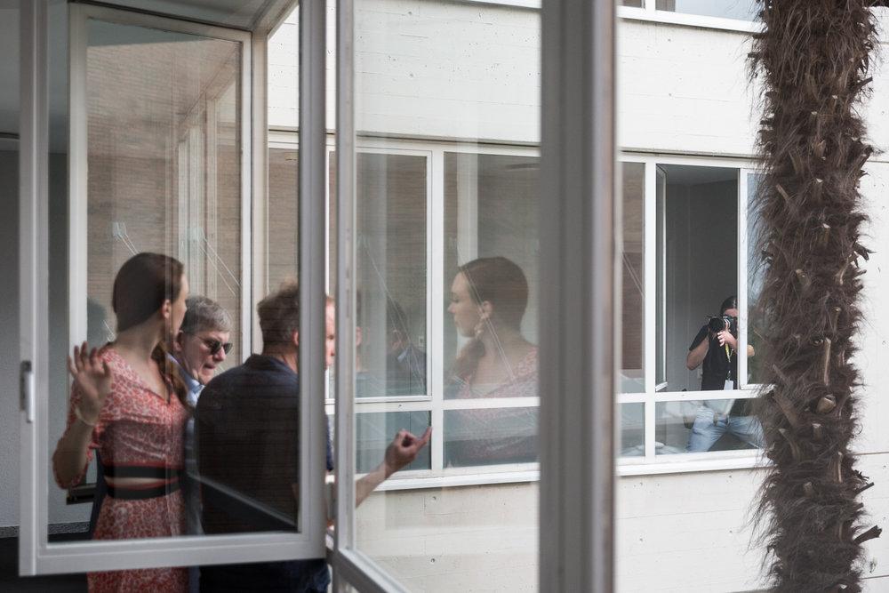 "Séance de photo du jury ""Cineasti del Presente"", à l'hotel Belvedere."